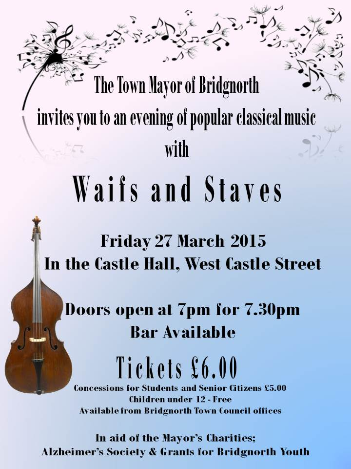 Mayor's Charity Concert - 27 March 2015