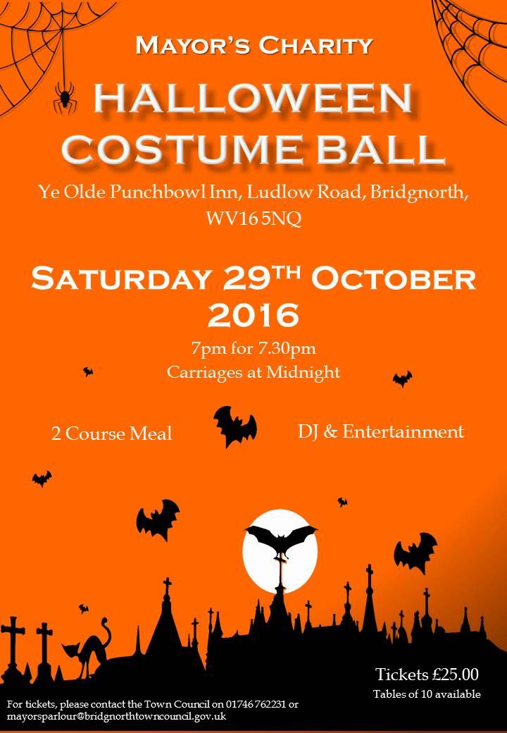 Halloween Ball Poster