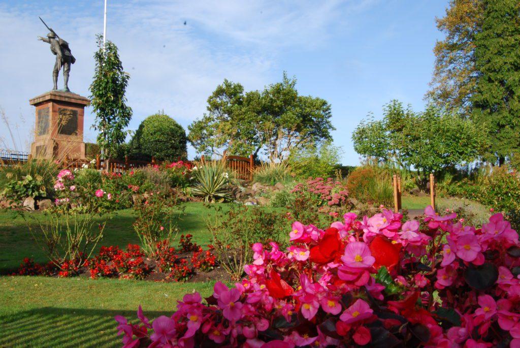 Birdgnorth In Bloom- Castle Grounds