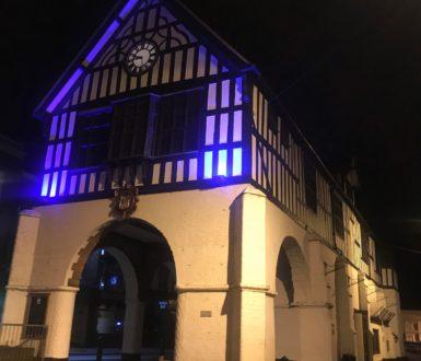 Town Hall- Lights on