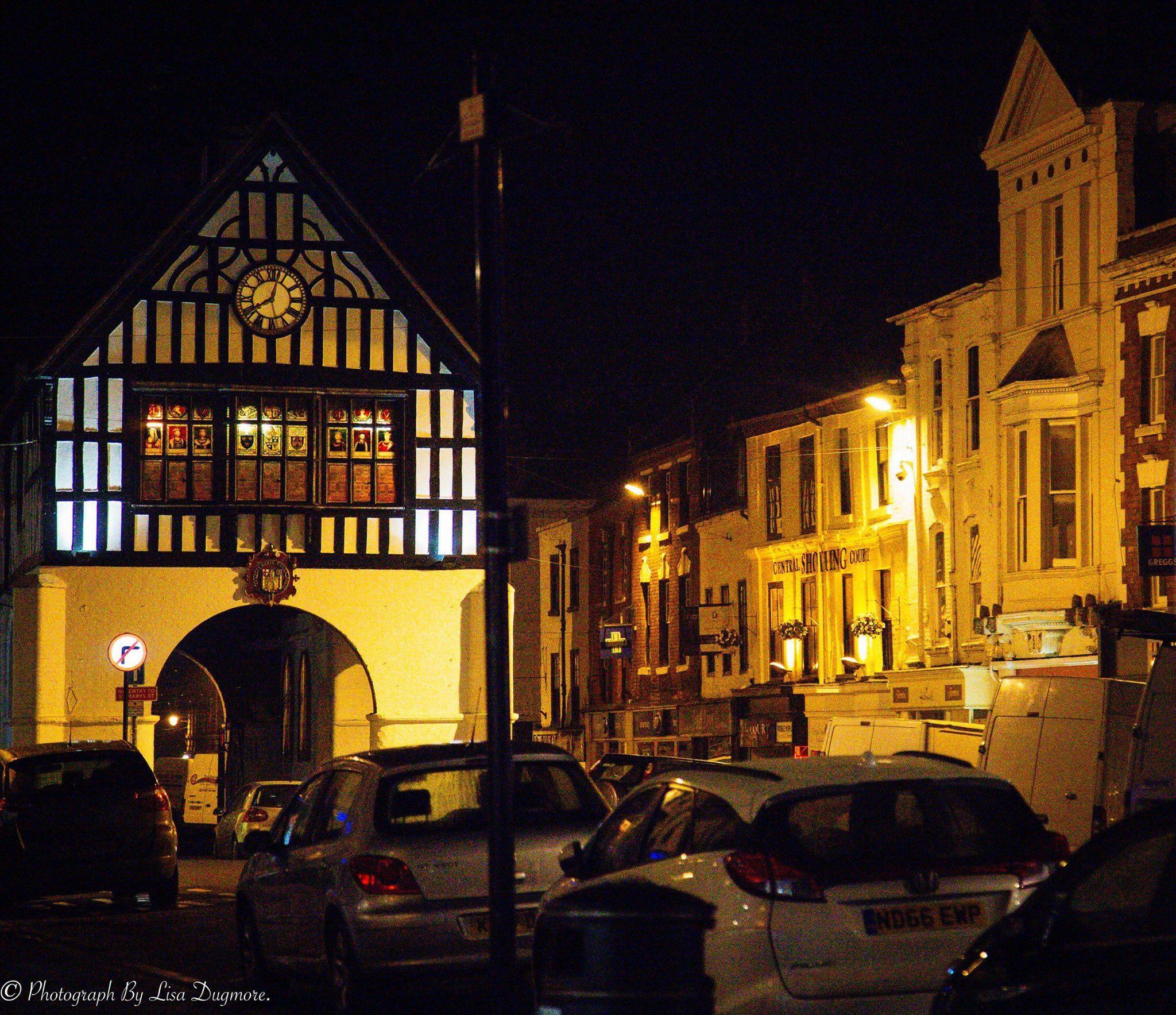 Town Hall at Night