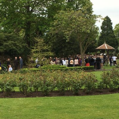 Wedding- Castle Grounds