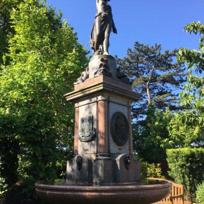 Sabrina Fountain- Castle Grounds