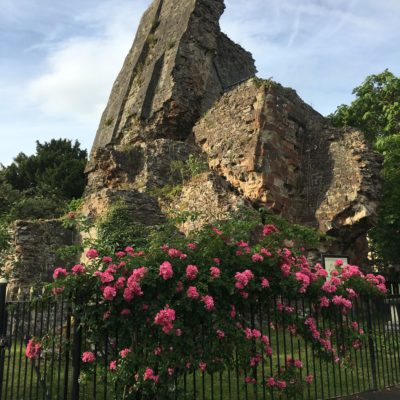 Castle Ruins- Castle Grounds - Click to open full size image