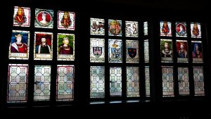 Stained Glass Windows- Town Hall