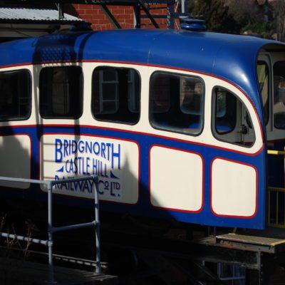 Bridgnorth Cliff Railway - Click to open full size image