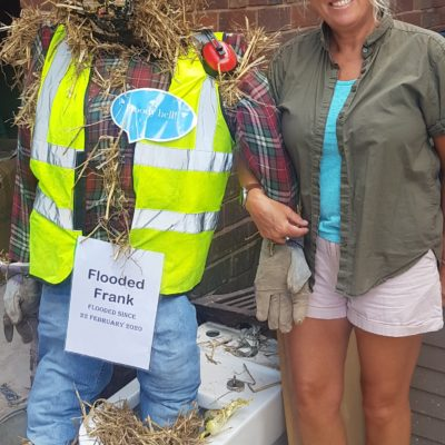 Flooded Frank Scarecrow