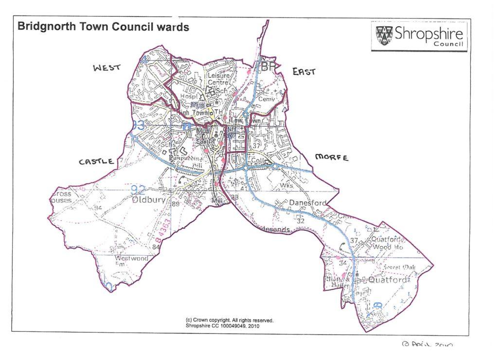 Bridgnorth Town Council Wards