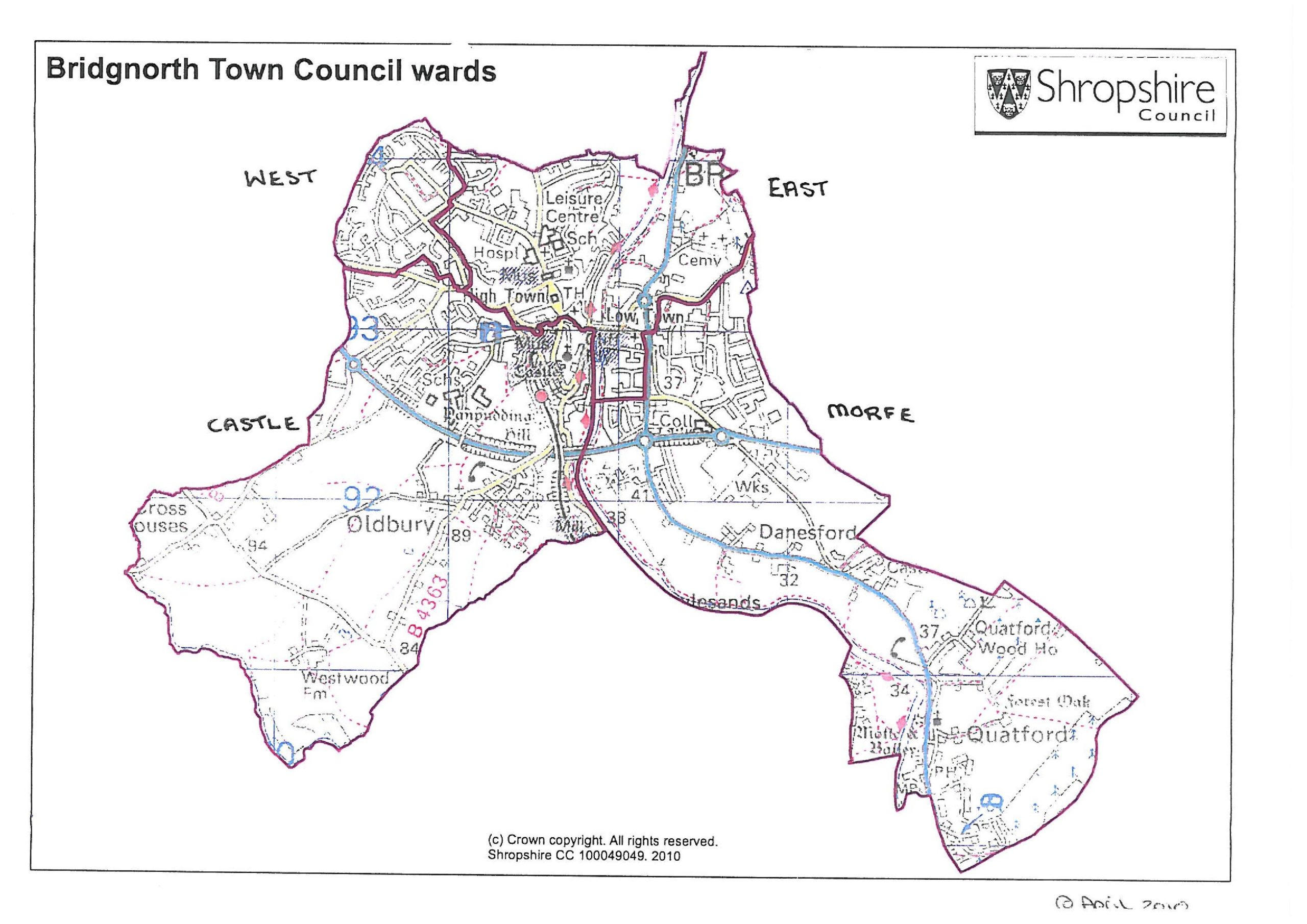 Btc Ward Map 1