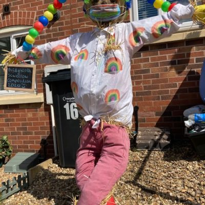 Rainbow Scarecrow - Click to open full size image