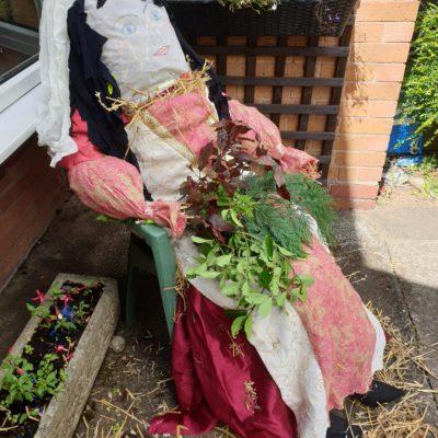 Medieval Scarecrow