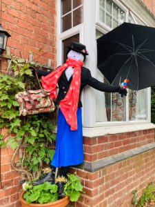 Scary Poppins Scarecrow