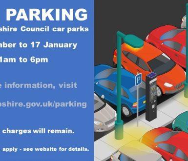 Free Parking 17 Jan